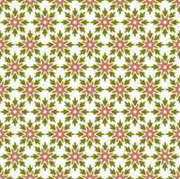 Blumenfliesen-nahtloses Vektor-Pattern.flower geometrisches Beschaffenheits-PA vektor