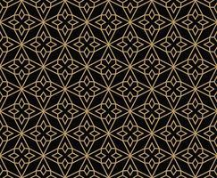 geometrische Linie Ornament nahtlose Muster, modernen minimalistischen Stil