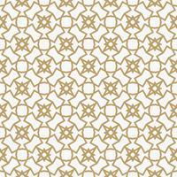 Abstraktes geometrisches Dekorationsmuster mit Linien. Ein nahtloses vec