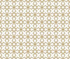 Abstraktes geometrisches Dekorationsmuster mit Linien. Ein nahtloses vec vektor