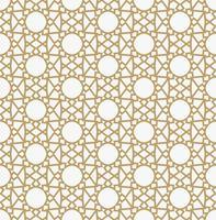 Abstrakt geometrisk dekorationsmönster med linjer. En sömlös vec