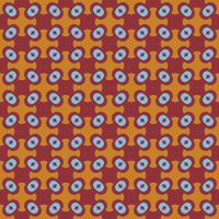 Abstraktes nahtloses Verzierungsmuster. Vektor-illustration