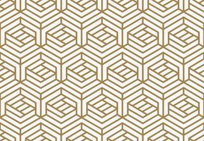 Moderne stilvolle geometrische Luxusbeschaffenheiten mit Linien nahtloser Klaps vektor