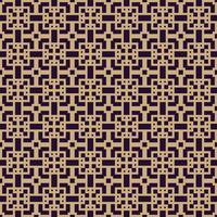 Vektor sömlöst mönster. Modern stilig struktur. Upprepande geometrisk bakgrund. Linjär grafisk design.