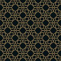 Modernes geometrisches Fliesenmuster des Vektors. golden gezeichnete Form. Abstr vektor