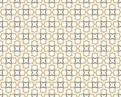Abstrakter nahtloser geometrischer Musterhintergrund mit Linien, orien vektor