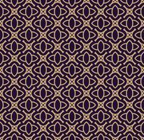 Vektor nahtlose Muster. Moderne stilvolle Textur. Geometrische lineare Verzierung.