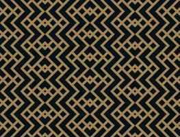 Abstrakt rhombus geometrisk mönster med linjer. sömlös mönster vektor med guldfärg.