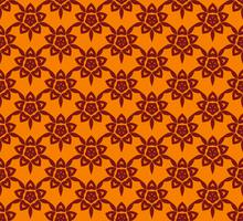 Vektor blommig sömlös mönster, vektor upprepande textur backgro