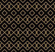 Abstraktes geometrisches Muster mit Linien, Rauten Ein nahtloses vect vektor