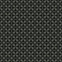 einfache Verzierung nahtlose Hintergrundmuster