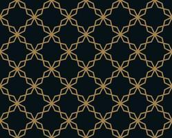 Nahtloses Muster mit Linie Verzierung. Abstraktes modernes geometrisches v