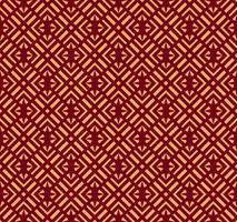 Nahtlose vektorverzierung. Modernes stilvolles geometrisches lineares Muster mit goldener Farbe