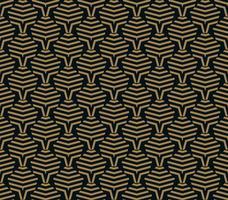 Vektor nahtlose Muster. Moderne stilvolle Textur. Wiederholte geometrische Fliesen aus gestreiften Elementen
