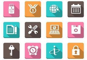 Verschiedenes Web Icon Vector Pack