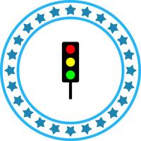 Vektor-Verkehrszeichen-Symbol vektor