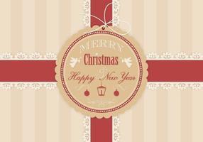 Weihnachtsgeschenk-Hintergrund-Vektor
