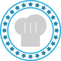 Vektor-Chef Cap-Symbol vektor