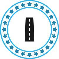 Vektor-Straßen-Ikone vektor
