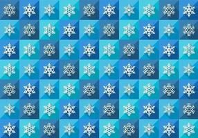 Nahtlose Winter Schneeflocke Muster Vektor