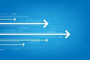 Technologie in Form von digitaler Geschwindigkeit.