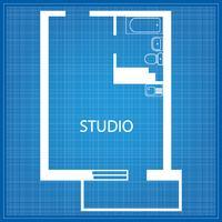 Aufbau des Studios