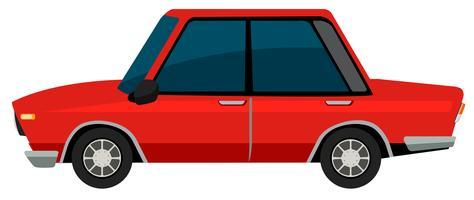 Ein vinatge Auto auf weißem Hintergrund