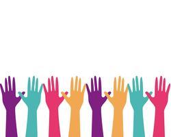 Handpflege Logo Vorlage Vektor Icon