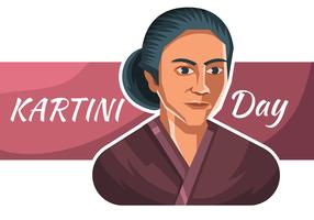 Kartini Day vektor