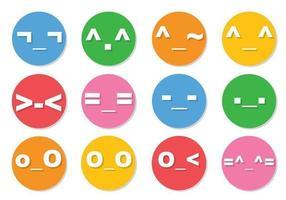 Emoticon Vector Pack