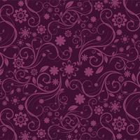Blumenmuster Hintergrund, Vektor-Illustration.