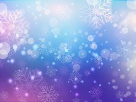 snöflinga abstrakt bakgrund. . Vektor illustration