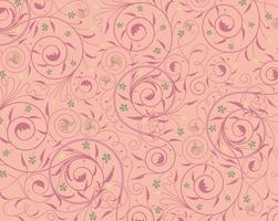 Nahtlose purpurrote Blumentapete