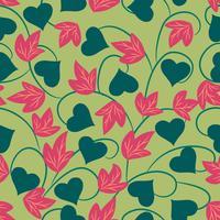 süße Blume Blumenhintergrund vektor
