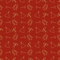 primitiv symbolmönster bakgrund vektor
