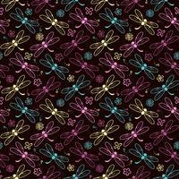 Libelle Muster Hintergrund