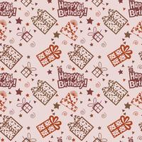 Alles Gute zum Geburtstag Muster Hintergrund