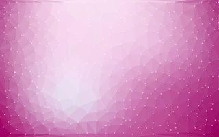 Abstrakter bunter niedriger Polyvektor-Hintergrund mit futuristischem Muster der purpurroten Steigung.