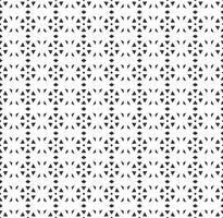 Abstrakt geometrisk sömlös mönster. Upprepande geometrisk svartvit struktur. geometrisk dekoration