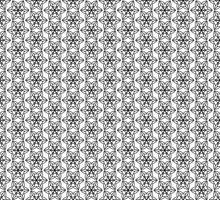 Seamless mönster linje dekoration abstrakt vektor bakgrundsdesign