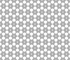 Art Deco hexagonal sömlös vintage tapet mönster