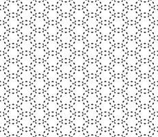 Abstraktes geometrisches nahtloses Muster. Wiederholen der geometrischen Schwarzweiss-Beschaffenheit. geometrische Dekoration