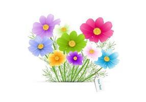 Blombukettvektor vektor