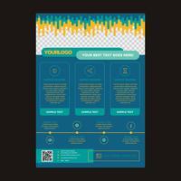 Flyers Business Brochure Design vektor
