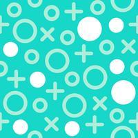 Nahtloses Muster Memphis mit geometrischem Elementhintergrund
