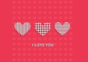 Jag älskar dig Wallpaper Vector