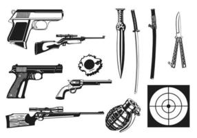 Waffen-Vektor-Pack