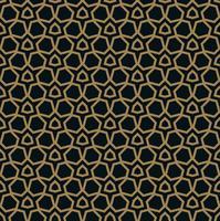 Das geometrische Muster. Nahtloser Vektor Hintergrund.