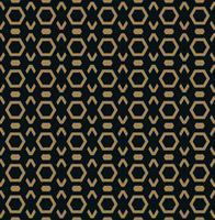 Vektor sömlöst mönster. Modern stilig struktur. Upprepande Trendiga geometriska plattor med sexkantslinje.