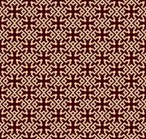 Nahtloses lineares Muster mit eleganten gekrümmten Linien und dekorativer Tapete der Rollen.